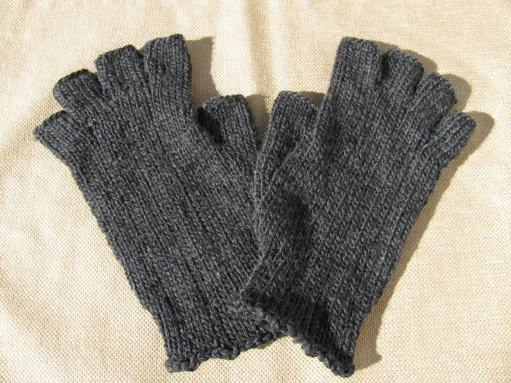 Mens Fingerless Gloves - Ready To Ship on Luulla